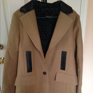 Nanette Lepore camel coat